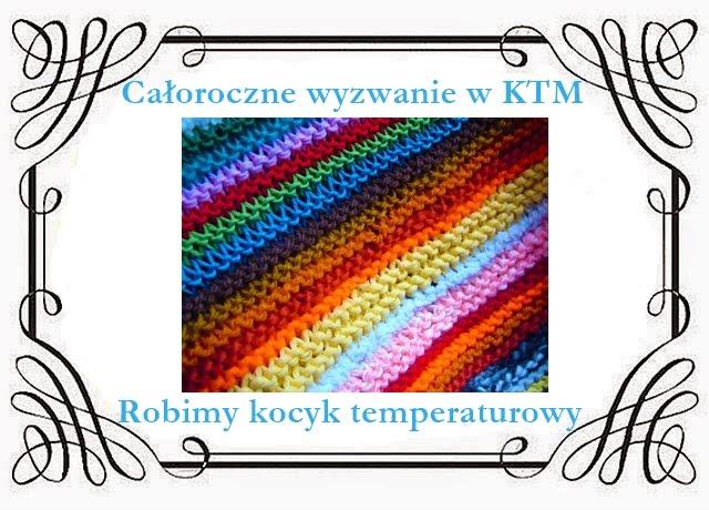 Kocyk temperaturowy (temperature blanket)