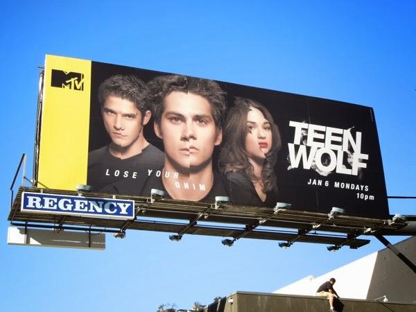 Teen Wolf midseason 3 billboard