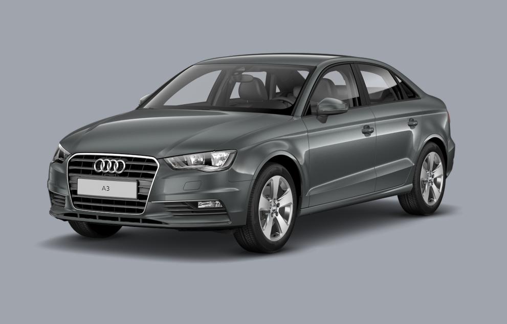 Audi A3 Berline/Saloon (2014) - Couleurs/Colors