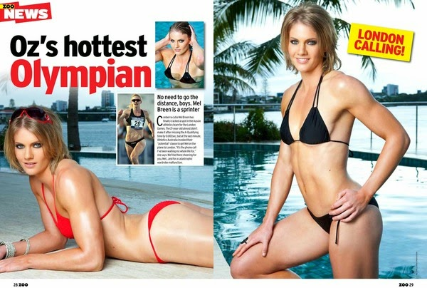 Aussie ladies voted hottest women at Commonwealth Games