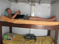 Linny's comfy quarters