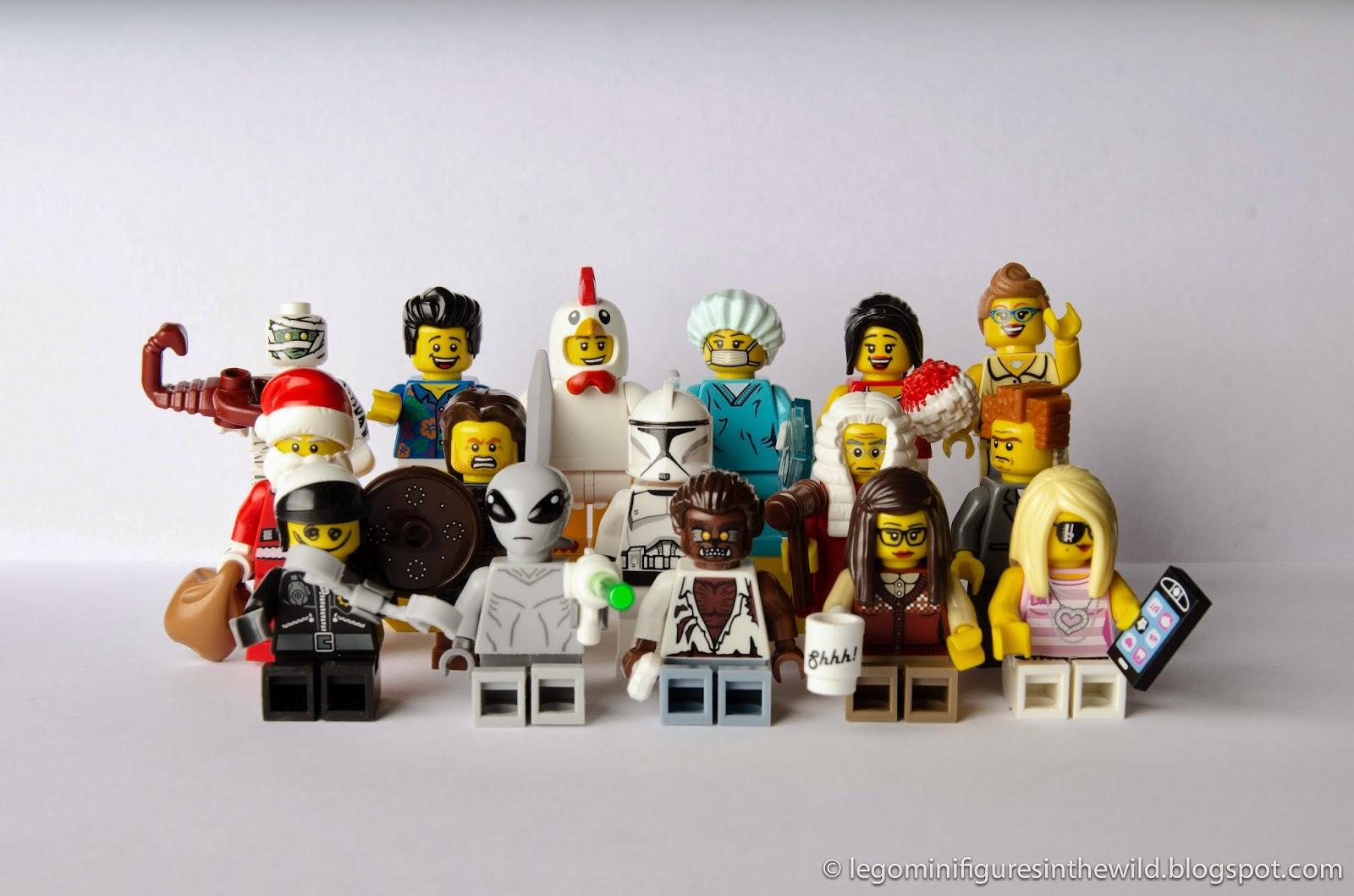Lego Minifigure School Class