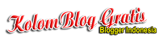 Kolom BloG GRATIS IndOnesia | infO Terbaru 2016