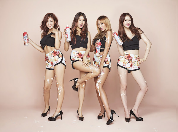 SISTAR Touch My Body concept