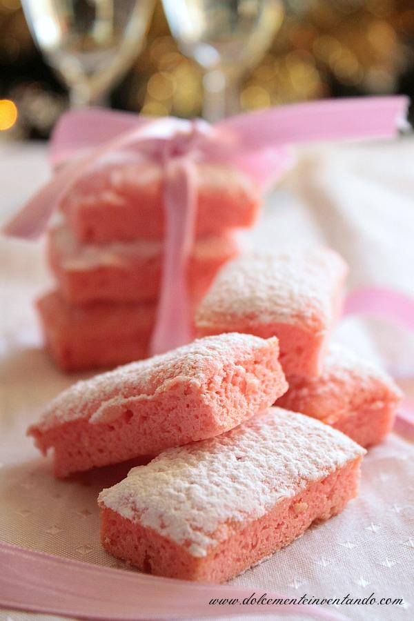 Biscotti rosa di Reims...i biscotti da champagne