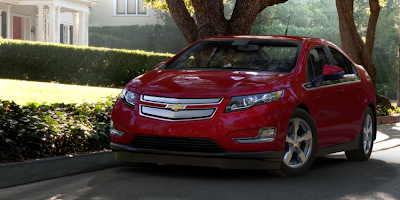 2013  Chevrolet Volt red