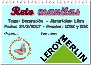 Reto Manitas. LEROY MERLIN