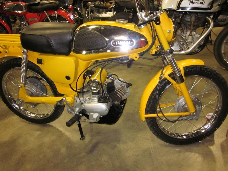 Oldmotodude 1965 yamaha 80 trailmaster at the 2012 idaho for Yamaha mx 80 for sale