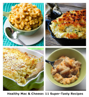 Healthy mac and cheese for kids