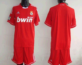 Red shirt of Real Madrid
