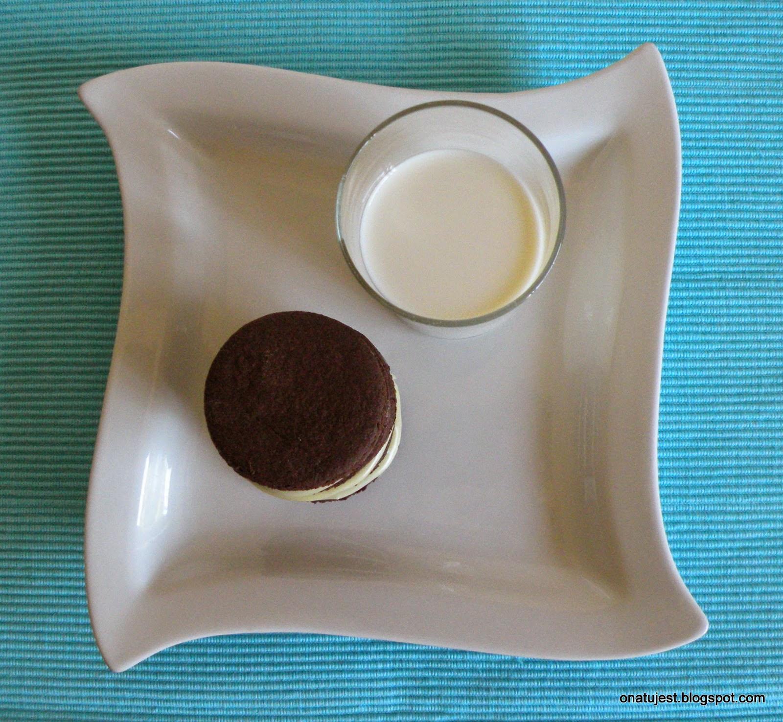 ciastka z mlekiem