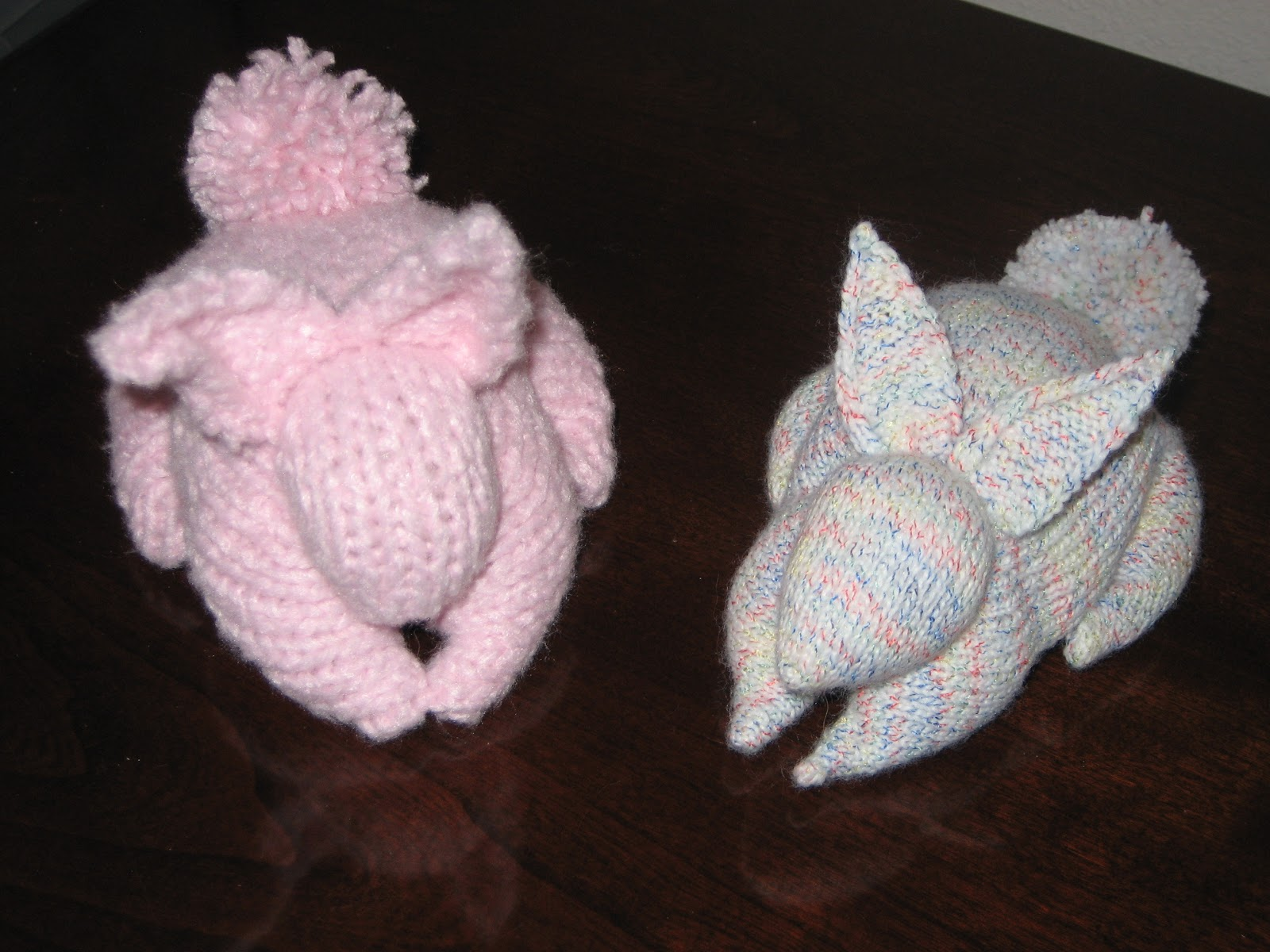 Easter Bunny Knitting Pattern : Diana natters on... about machine knitting: Any Gauge Easter Bunny?