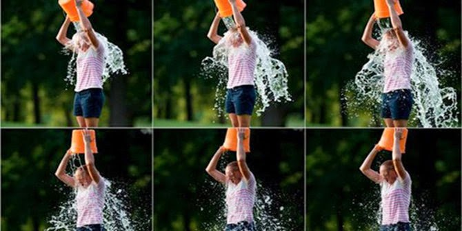 Aksi Ice Bucket Challenge Terekstrem Sejagat