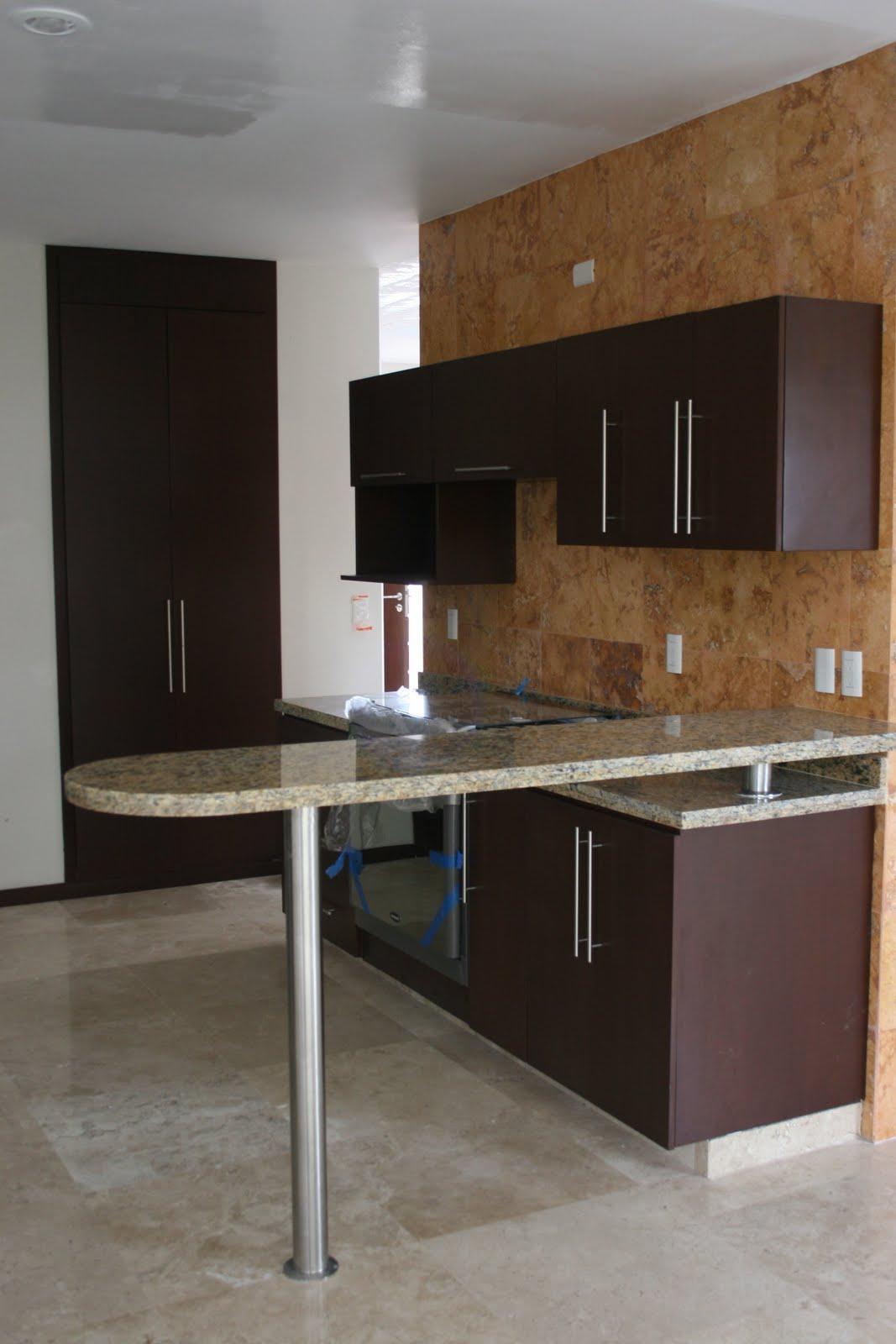 Demadera veracruz carpinteria de junio for Barras de cocina de granito