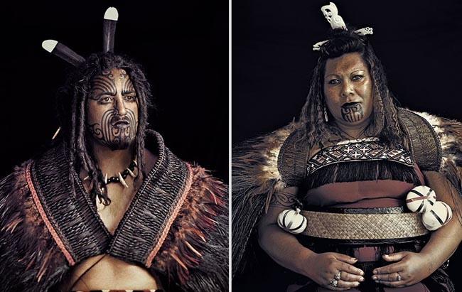 46 Must See Stunning Portraits Of The World's Remotest Tribes Before They Pass Away - Maori, New Zealand