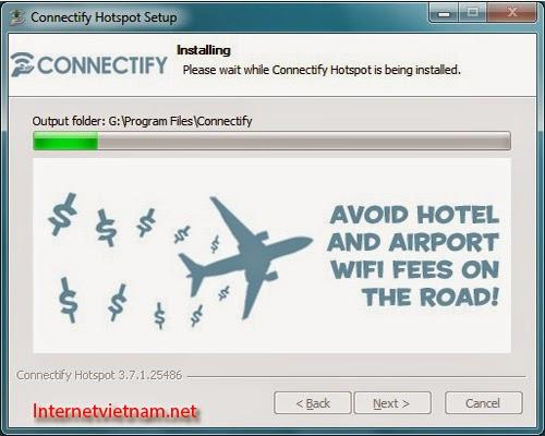 Cách Phát Wifi Từ Laptop Bằng Connectify 2