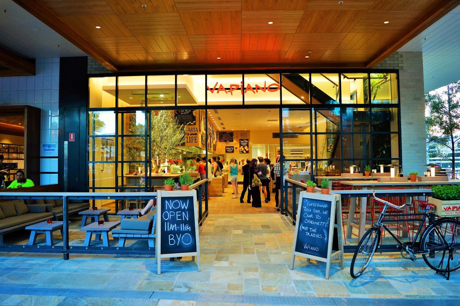 A Taste Of Italy New Vapiano Restaurant Opens Garden City Ameriaus