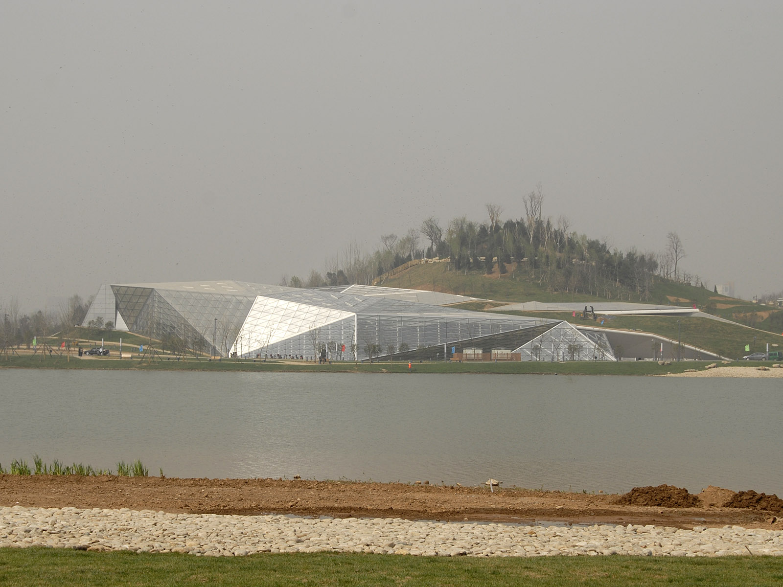 AALU LANDSCAPE URBANISM Xian Expo by Plasmastudio and Groundlab due to open next 28th April