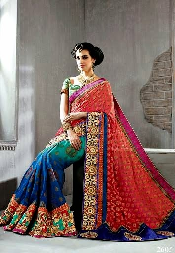 Royal Saree and Lehnga Trend for Party Wear