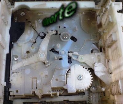 Mecanismo Panasonic CRS1 sucio