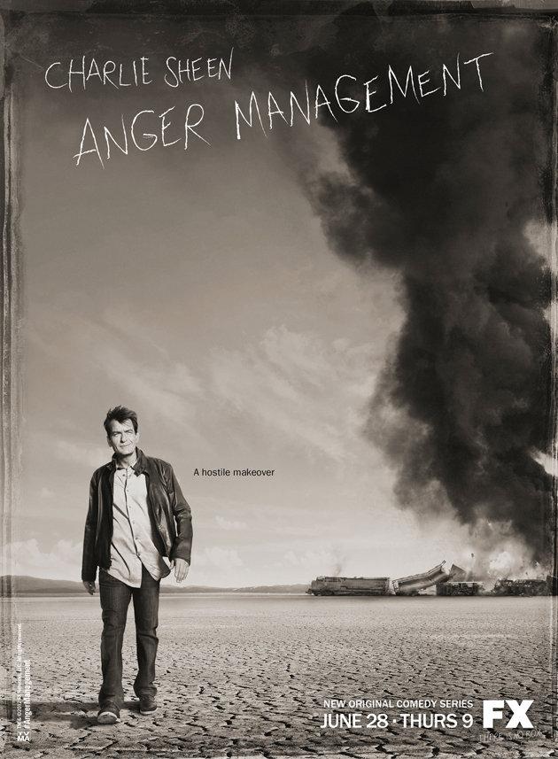 Paramount Comedy estrena el próximo viernes 'Anger Management', la nueva serie de Charlie Sheen Fx-anger-management-poster