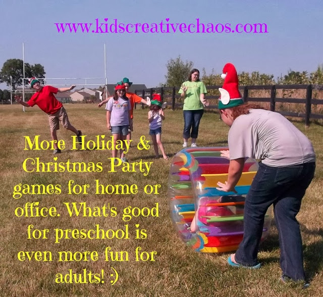 More of the Best Holiday and Christmas Games for Parties for Adults and Kids