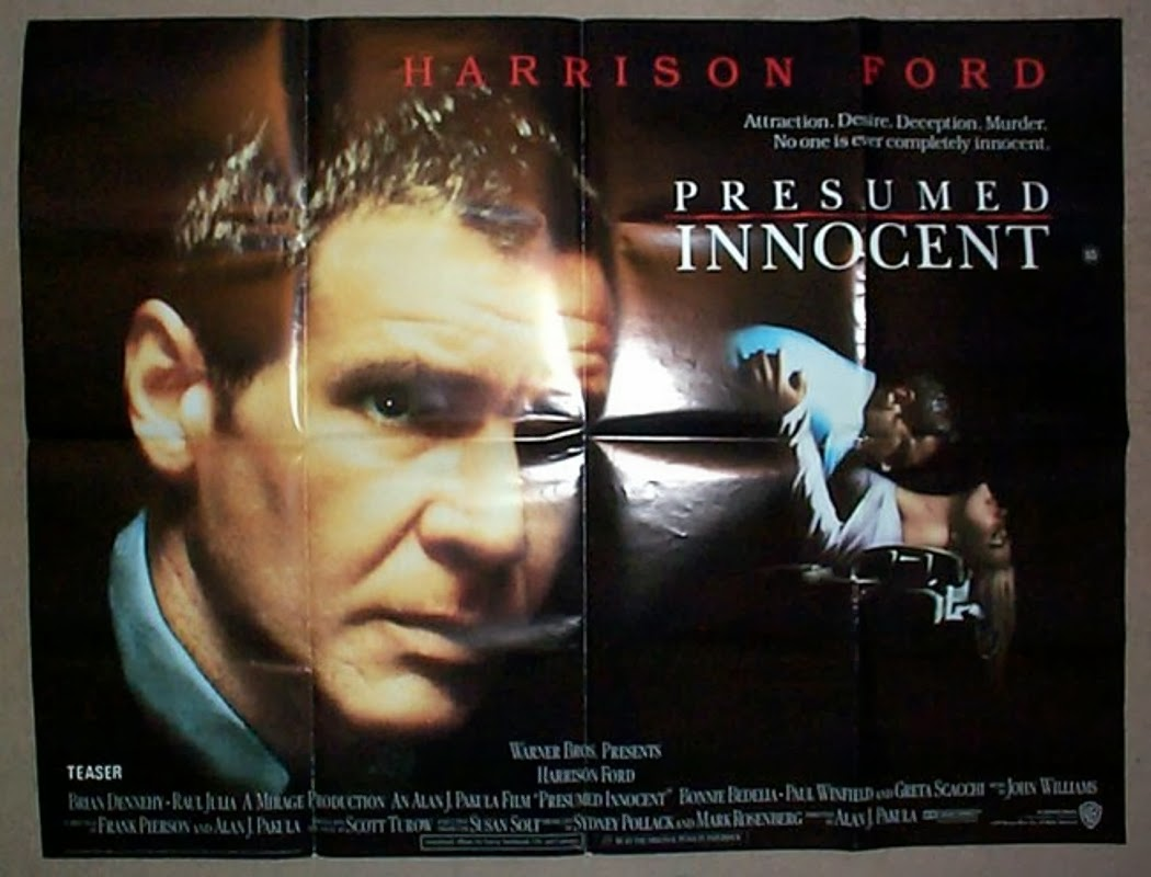 Delayed Reaction: Presumed Innocent. The Pitch: Harrison Ford Wants To Do A  Court Drama. Write A Script. Any Script.