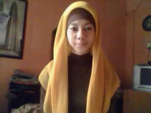 Jilbab on Cara Memakai Jilbab Paris Terbaru