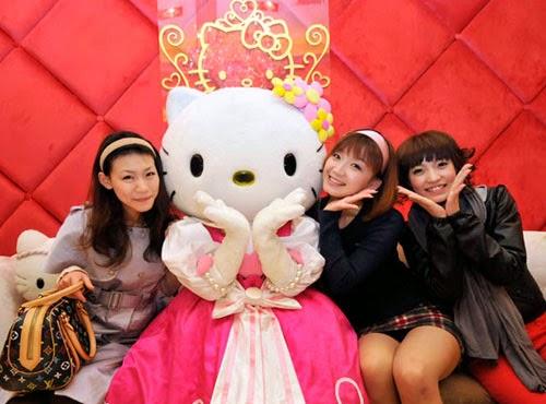 Foto Cewek Cantik Hello Kitty Lucu Terbaru China Jepang Korea