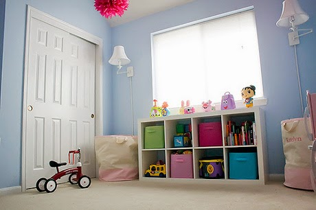 toy storage design for play room