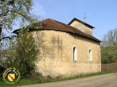 GRAUX (88) - La chapelle Saint-Nicolas (XVIIe)