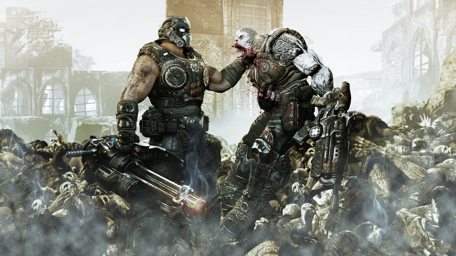 Gears of War HD & Widescreen Wallpaper 0.220556523855251