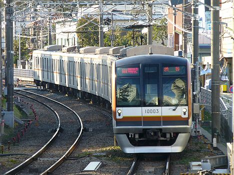 東急東横線 通勤特急 渋谷行き 10000系
