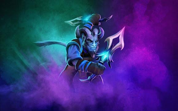 riki the stealth assassin dota 2 hero game hd wallpaper
