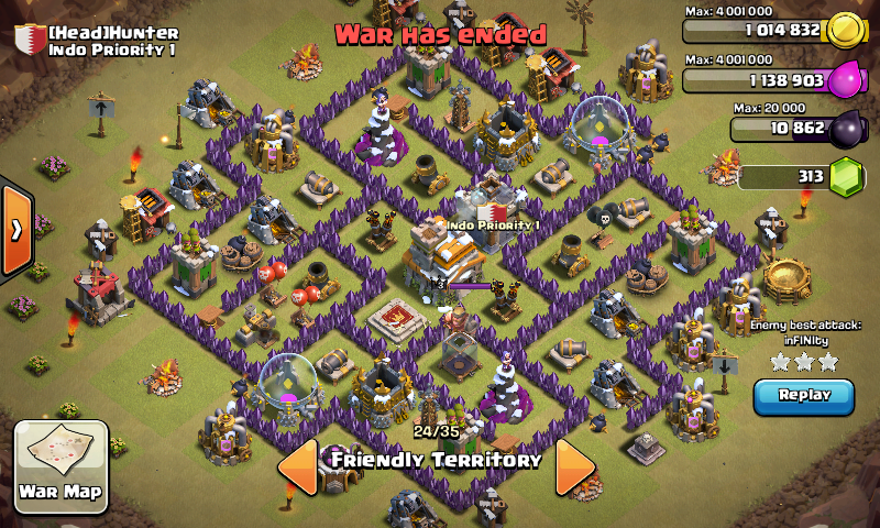 Strategy base town hall 7 indonesian clash of clans tricks