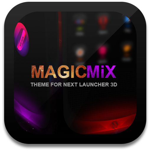 Next Launcher Theme MagicMix