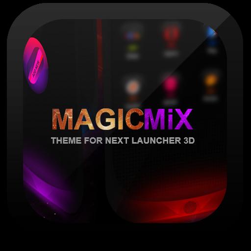 Next Launcher Theme MagicMix