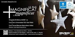 MAGNIFICAT DE RUTTER IGLESIA DE SAN MIGUEL 13 DICIEMBRE 2014 A LAS 20H
