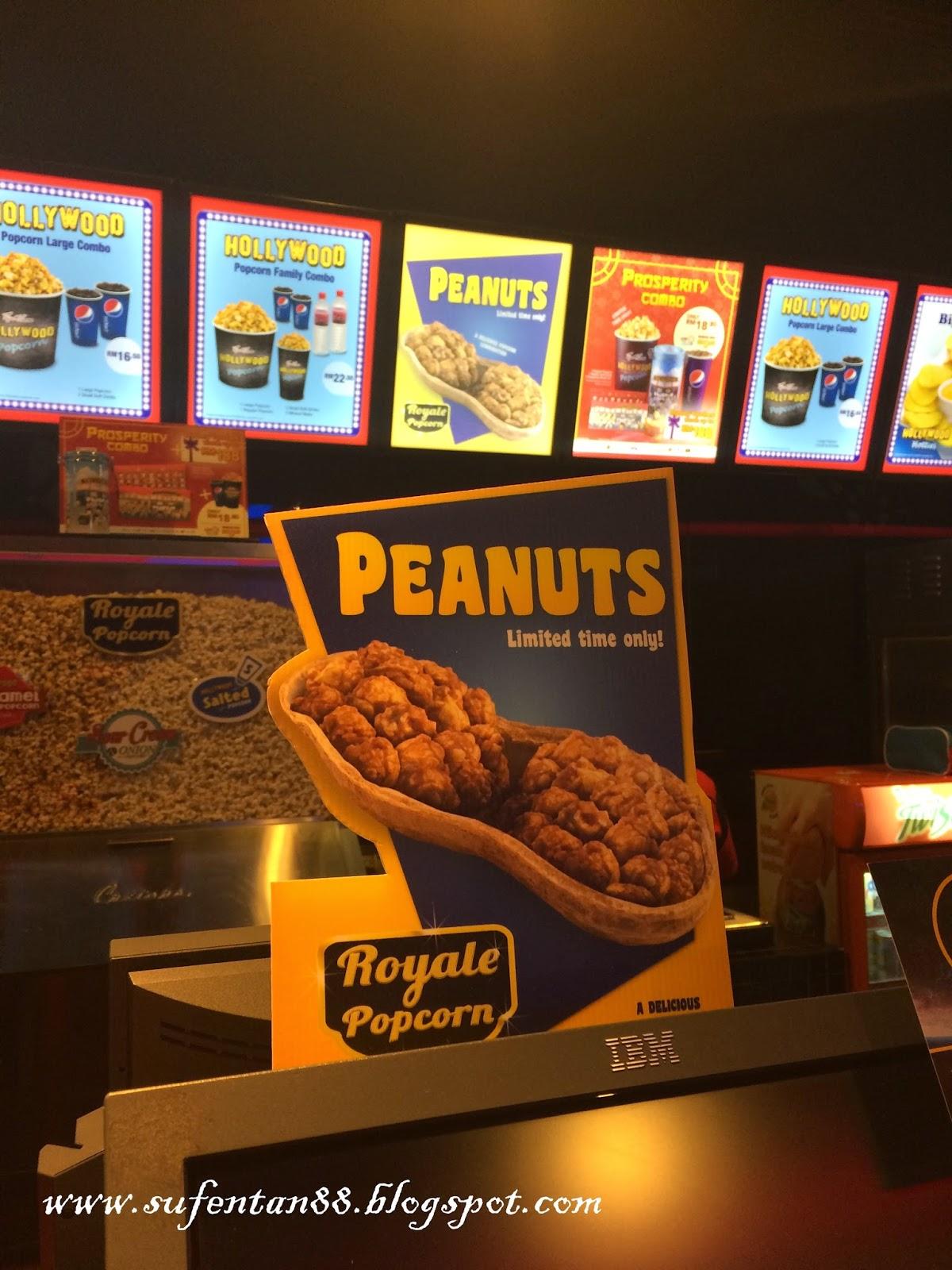Peanuts Royale Popcorn Tgv Cinemas Sufentan Com