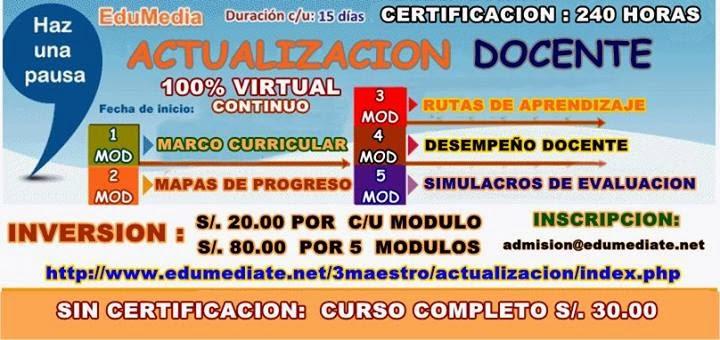 SIMULACRO DE EVALUACION