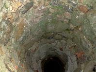 Interior del pou del Pla del Mas Gilabert