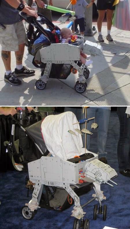 Kreative Kinderwagen