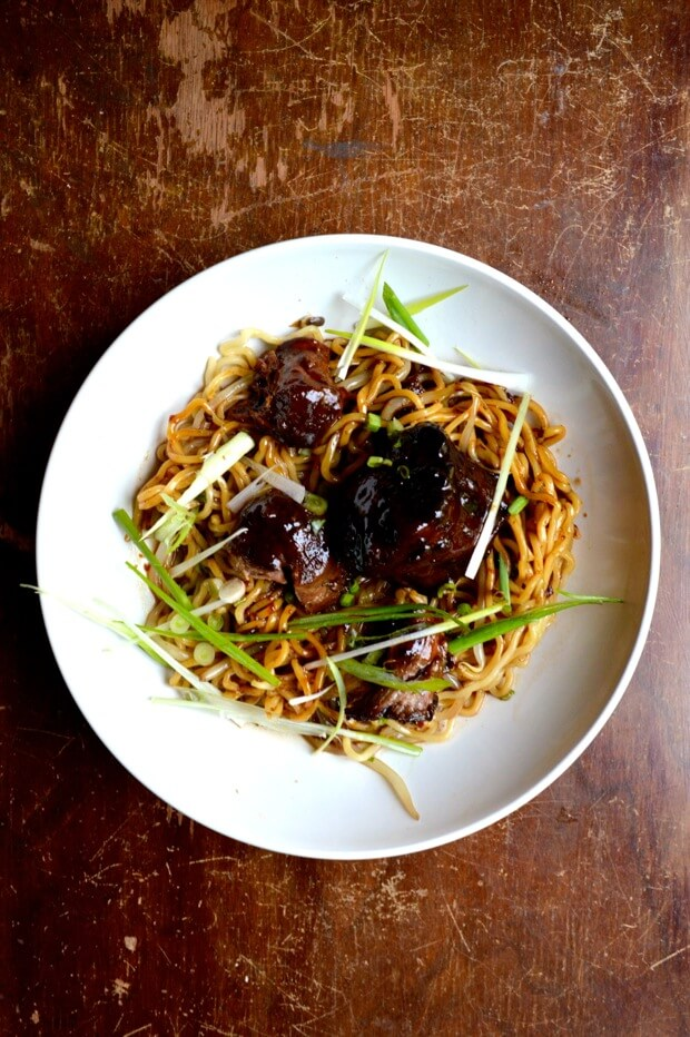 Braised Oxtail Noodles 6 | Chinese Recipes