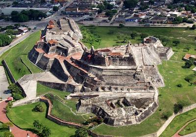 Castillo de San Felipe de Barajas colombia