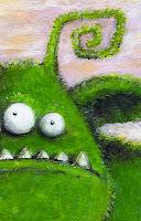Kinderbuchillustration monster
