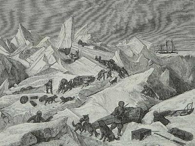Tegetthof-Észak világa-Ellátmány szállítás