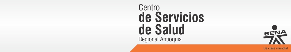Centro de Servicios de Salud - SENA Regional Antioquia
