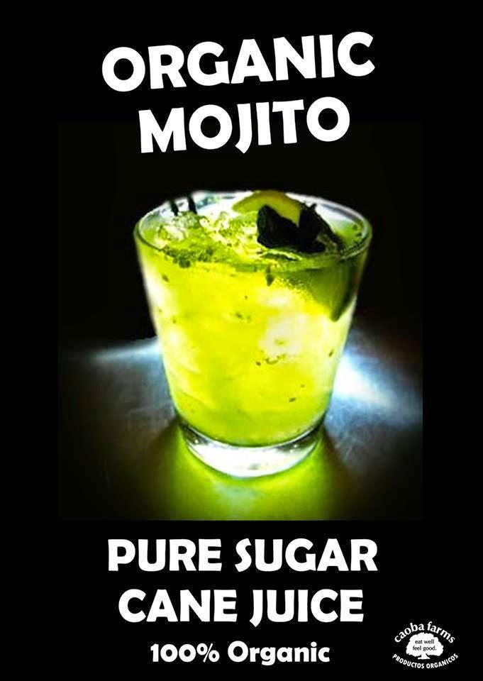 ORGANIC MOJITOS @ VOLUNTEER NIGHT!!!