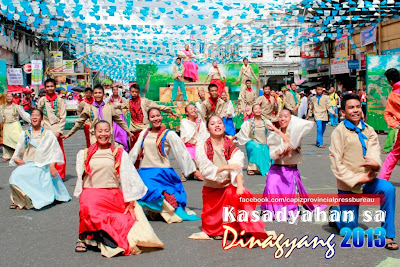 Kasadyahan sa Dinagyang 2013 Padagyaw  Festival - Dumarao, Capiz
