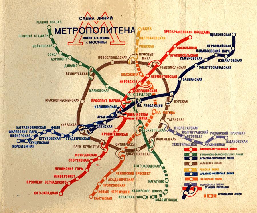 Doctor Ojiplatico.Plano Metro Moscu
